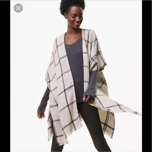 LOFT Plaid Kimono